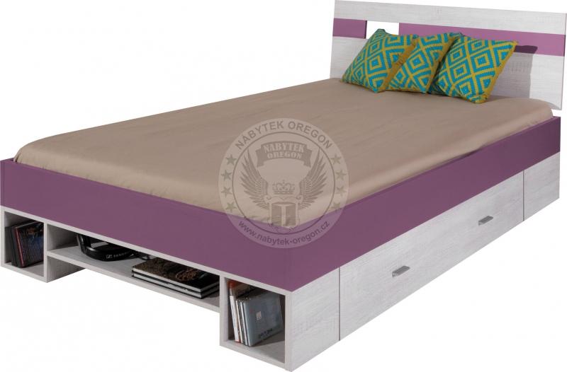 Postele - Dětská postel Monty 18 -120 cm