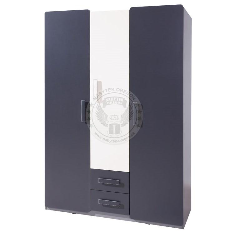 Skříně a skříňky - Šatní skříň Linkin SZ3D2SZ