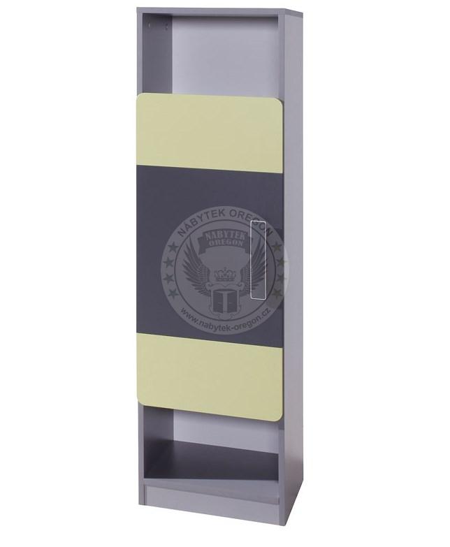 Regály a vitríny - Kombinovaný regál Linkin R1D