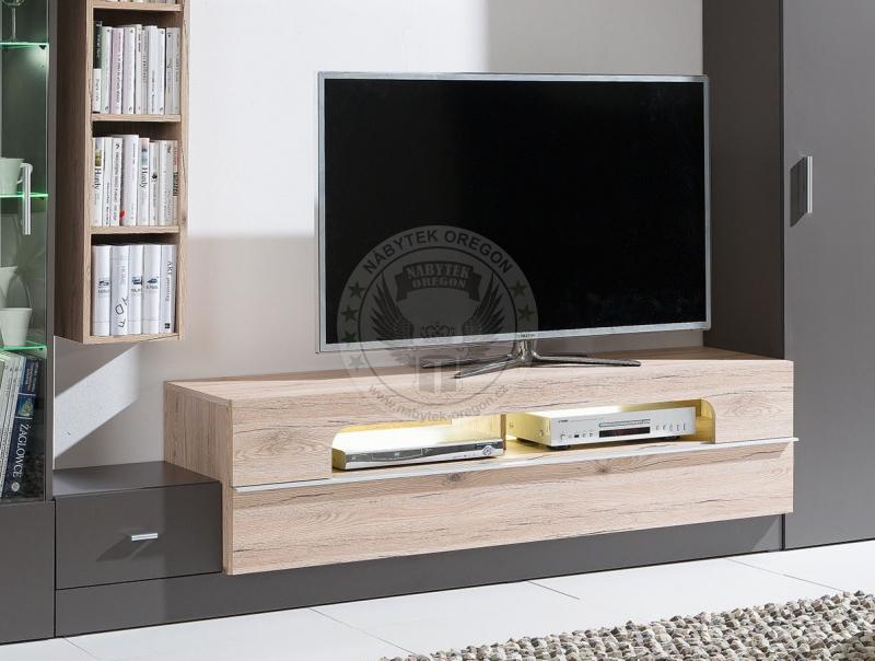 Televizní stolky - Televizní stolek Grey