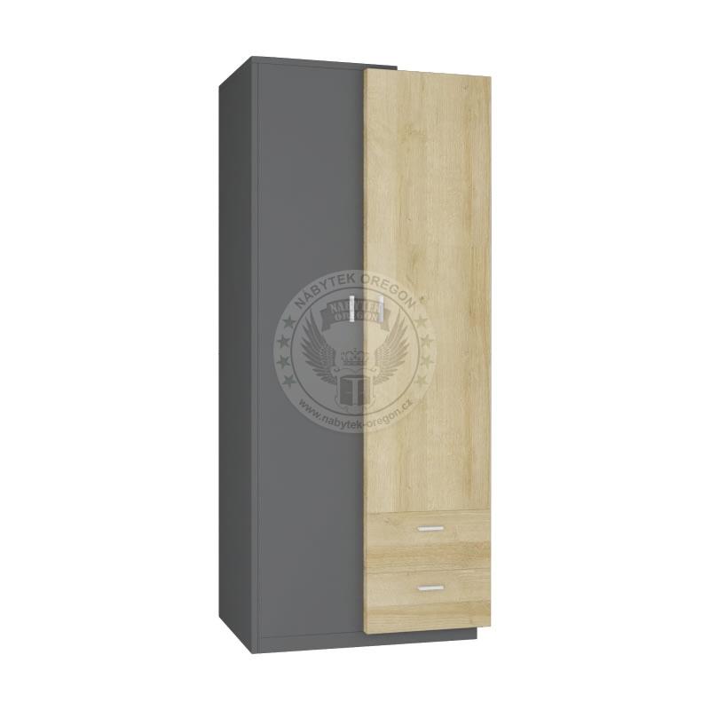 Skříně a skříňky - Šatní skříň Etna 1