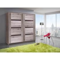 Šatní skříň Olympus 200 s posuvnými dveřmi
