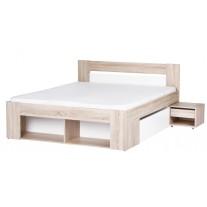 Manželská postel Milo 09 - 160 cm