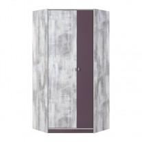 Rohová šatní skříň Zoom 2