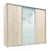 Šatní skříň Sam 255 s posuvnými dveřmi